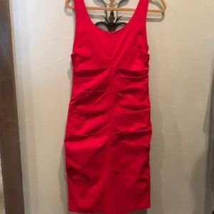 Papillon Blanc Dresses - Sexy red hot dress by Paillon